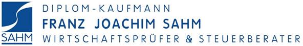 Franz Joachim Sahm, Wirtschaftsprüfer und Steuerberater